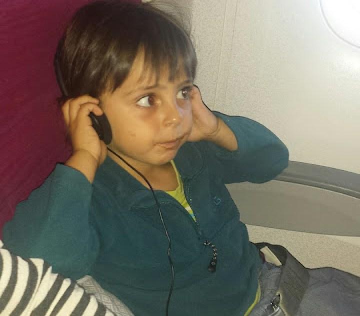 volar con niños a Tailandia