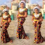 Nigeria Ankara Skirts And Blouse Styles  2017 2018