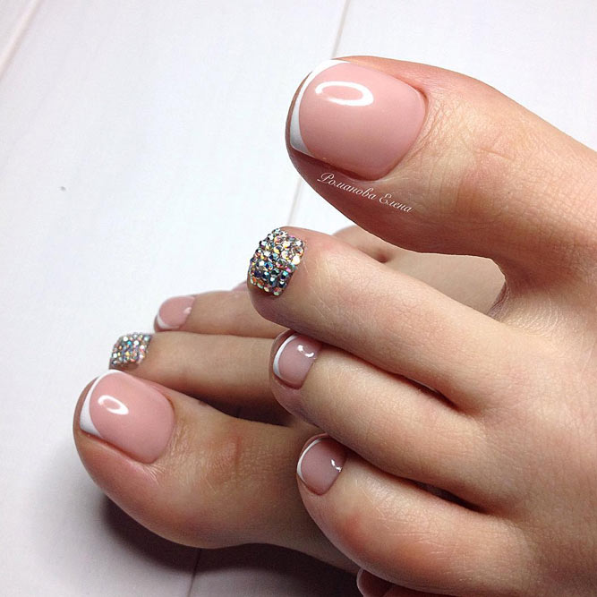 Creative Toe Nail Art Designs For Summer 2018 Pretty 4