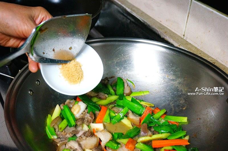 蒜苗炒鹹豬肉-1