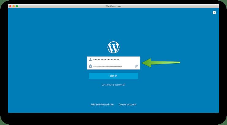 Aplicación oficial WordPress.com para Mac OS