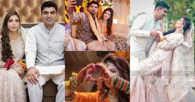 Exclusive Pictures of Youtuber Amna Riaz Wedding