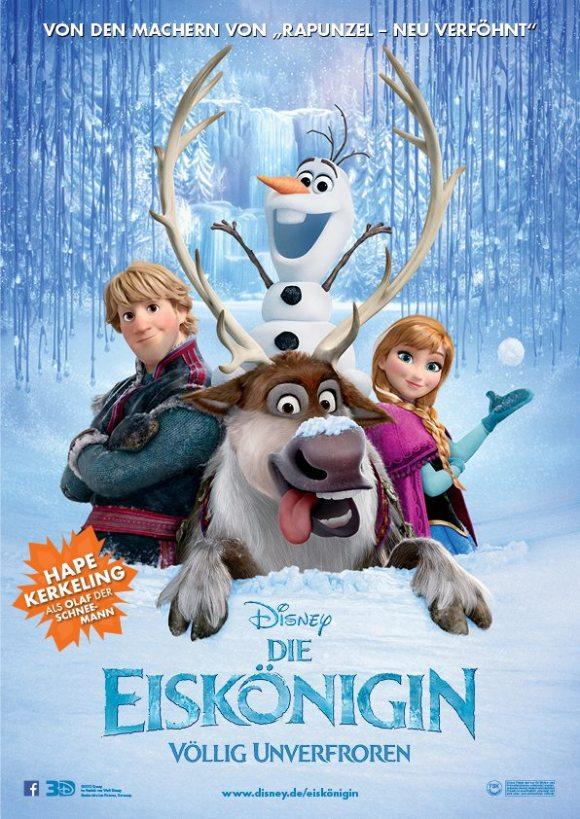 Die Eiskönigin -Plakat