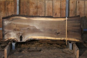 "550  Walnut -4 10/4 x  33"" x  27"" Wide x 8'  Long"