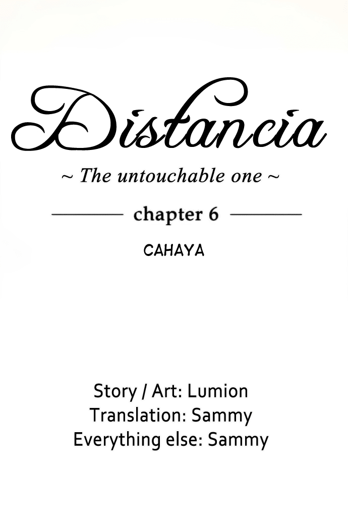 Distancia ~ The Untouchable One: Chapter 06 - Page 21