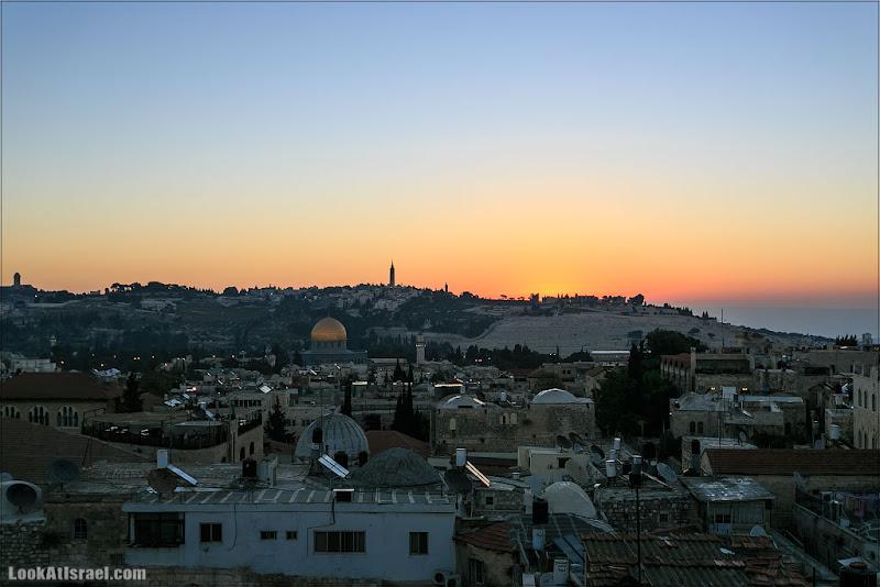 Рассвет над Иерусалимом