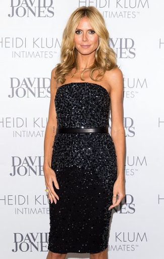 Heidi Klum Hair Color