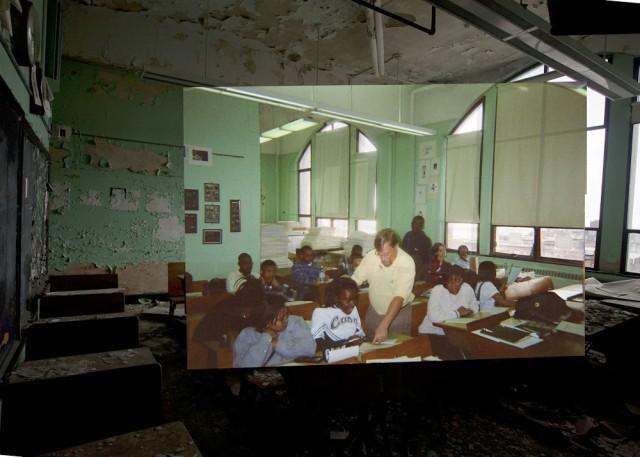 *Detroit Now And Then:極度詭譎昔日影像交錯重疊! 22