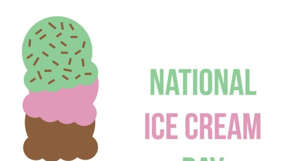 Images: National Ice Cream Day