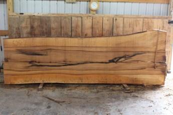 """525 Bass Wood -7 10/4 x 53"""" x 43"""" Wide x 12' Long"""