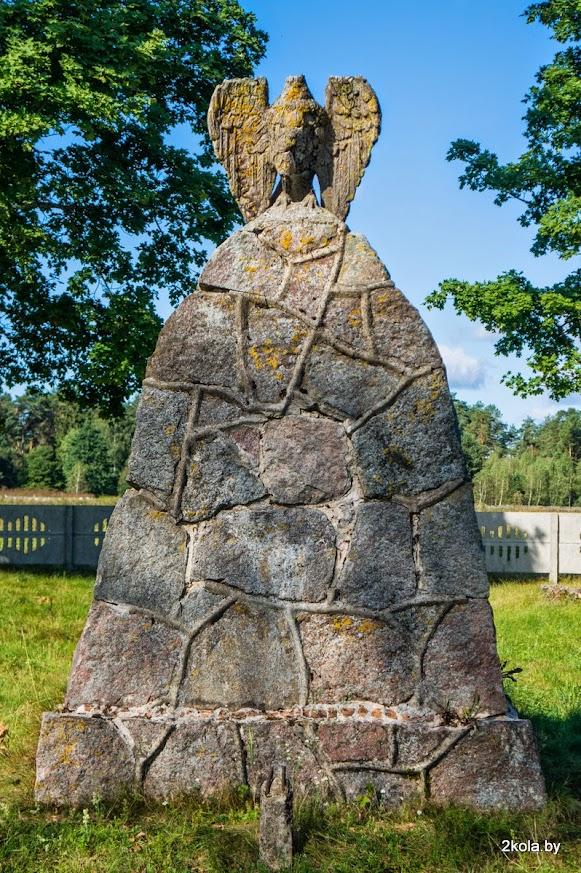 Памятник немецким солдатам 1915-1918 гг. д. Великие Луки