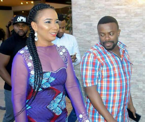 Caption This Photo Of Okon Lagos & Ibinabo Fiberesima