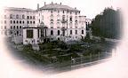 Wohnhaus mit Garten und photografischem Atelier von Berta Wehnert-Beckmann in der Elsterstraße 38, 1866, Fotografin: Bertha Wehnert-Beckmann