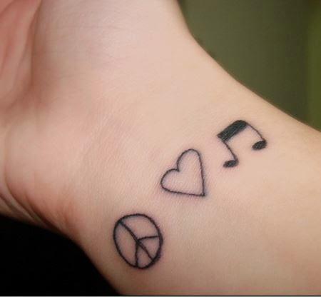 Peace Tattoos