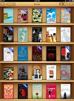 Screencap of my iBooks library