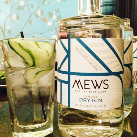 Gin tasting @Colonel Fawcett - Mews gin
