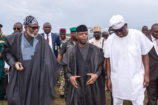 FULL TEXT OF ACTING PRESIDENT Professor Yemi Osinbajo's ORATION AT THE FUNERAL OF THE LATE MAJOR GENERAL ROBERT ADEYINKA ADEBAYO, IN EKITI STATE, TODAY MAY 20, 2017