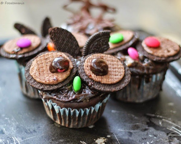 Oreo Owl Cupcake Recipe | Fun Halloween & Easter Treats