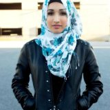 best hijab styles for round faces 2016