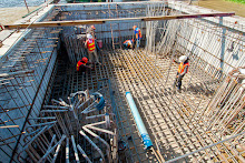 Systems Contracting Tying Rebar Large Structural Concrete
