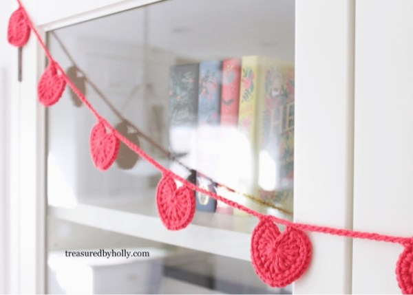 Valentine Heart Garland | Treasured by Holly