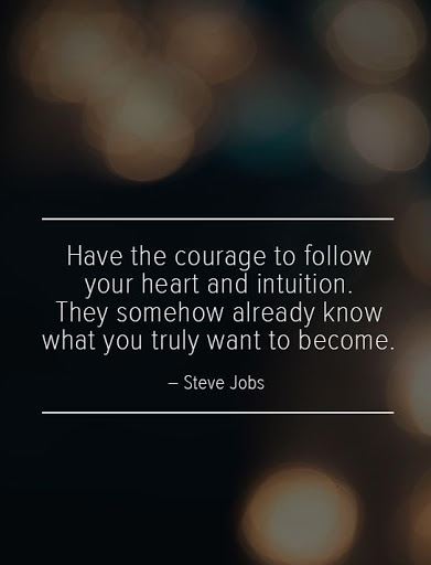 steve jobs quote look in the mirror