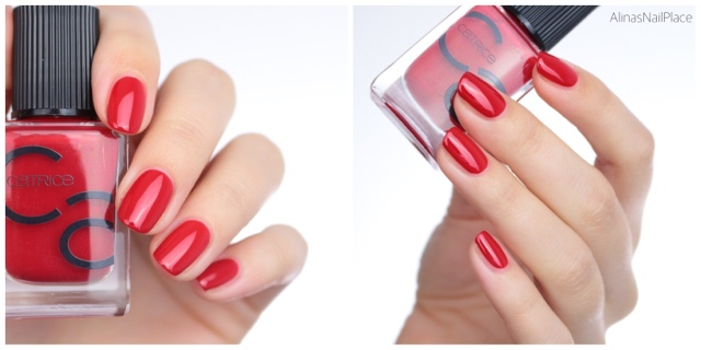 iconails catrice all about that red