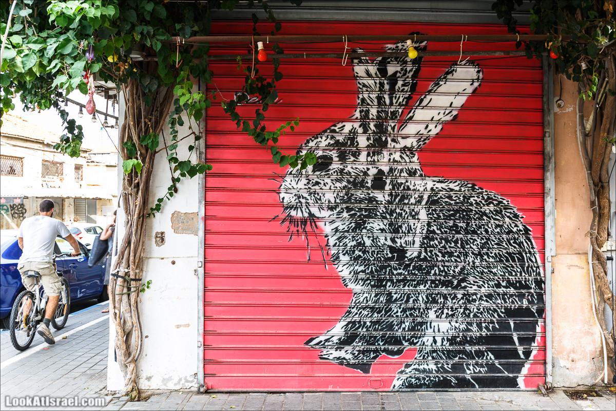 Граффити Тель Авива от Dede