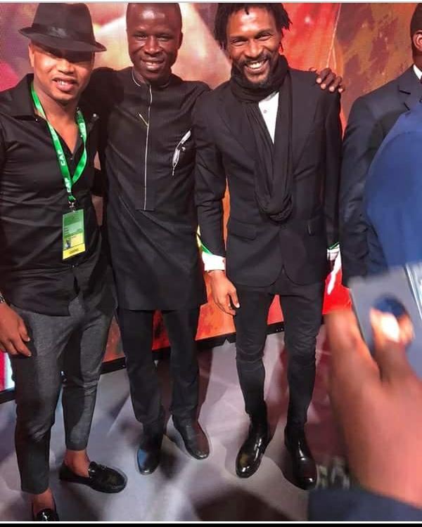 IMG_20180308_124435_043 Rumoured Dead Ex-Cameroonian Footballer Rigobert Song Steps Out With El Hadji Diouf (Photos)