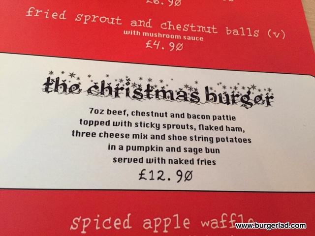 Splendid Kitchen The Christmas Burger