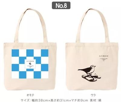 「佐野研二郎氏パクり・盗作疑惑7」トートバック:小鳥とサンダル1