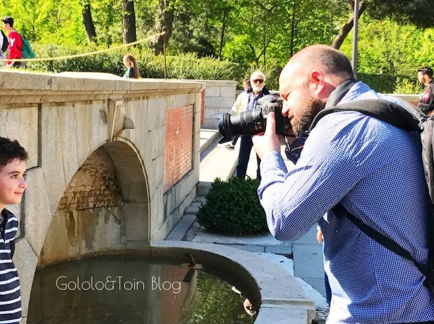 Reportaje fotográfico en familia en Madrid