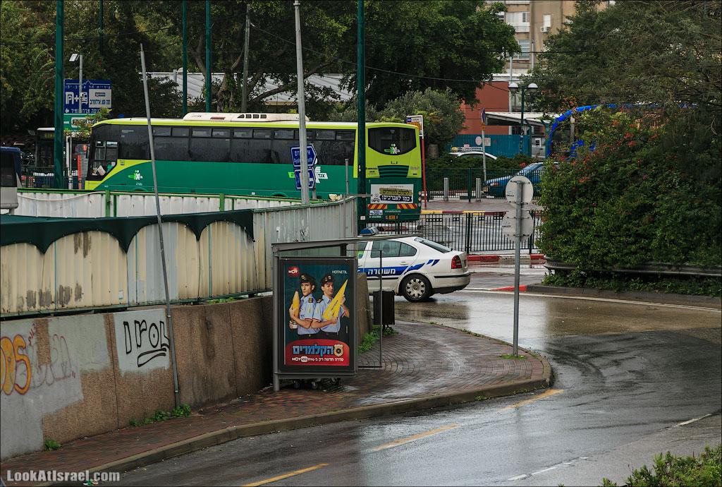 LookAtIsrael.com – Фотографии Израиля и не только…: Сказ о том как одна маленькая, но гордая речка парализовала половину Израиля и весь Тель Авив   LookAtIsrael.com - Фотографии Израиля и не только... Я считаю что полиция правильно сделала что закрыла трассу.