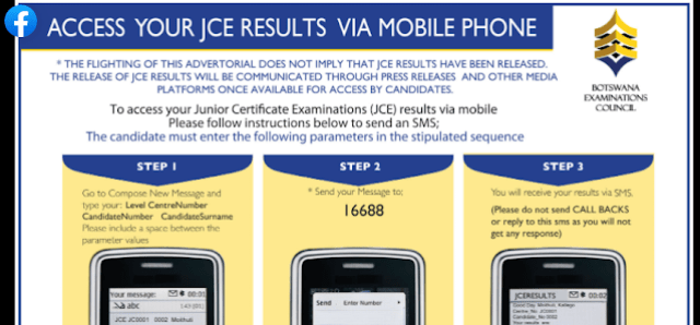 how to check jce results 2020