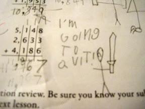 math quitter