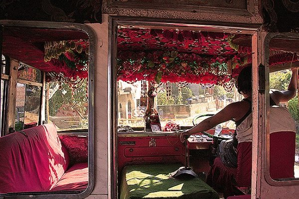 dakshinkali bus, nepalese country bus, getting around nepal