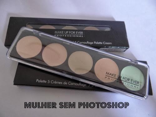 Make Up Forever Concealer Cream Palette - Cor 1