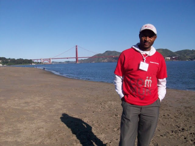 IVLP 2010 - Volunteer Work at Presidio Trust - 100_1399.JPG