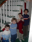From Left to Right: Colden, Connor, Hunter, Logan - 2002