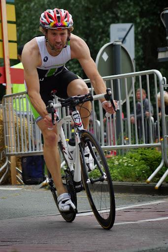 Dieter Vercaigne - 1/8e triatlon Roeselare - 1 juni 2014