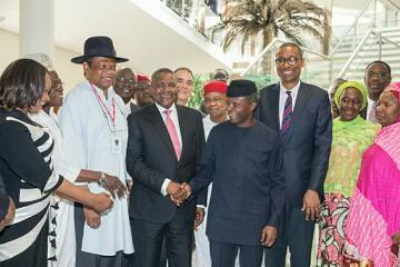 Inauguration of the Nigeria Industrial Policy and Competitiveness Advisory Council(PHOTOS)