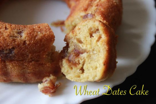 Wheat Dates Cake3