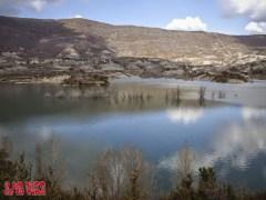 Pantano y pueblo de Arguis. Se acabó lo que se daba ©aunpasodelacima