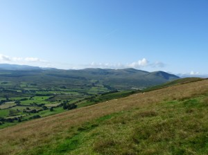 Clough Head on right with Dodds beyond