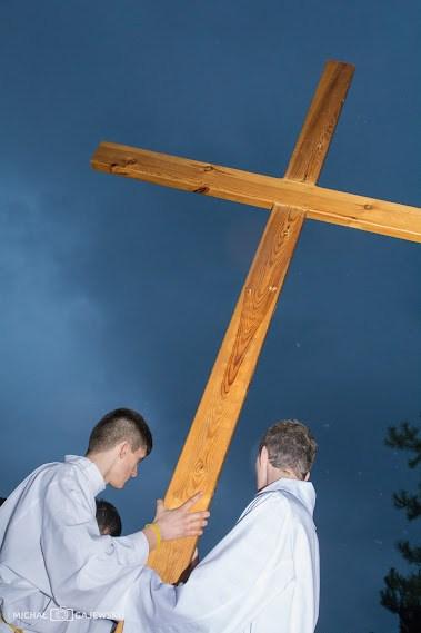 DSC 4719 Droga krzyżowa wzaprzyjaźnionej parafii