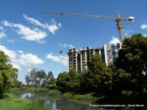 Construcciones en el Humedal El Burro