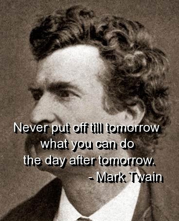 Inspirational quotes for life by Mark Twain