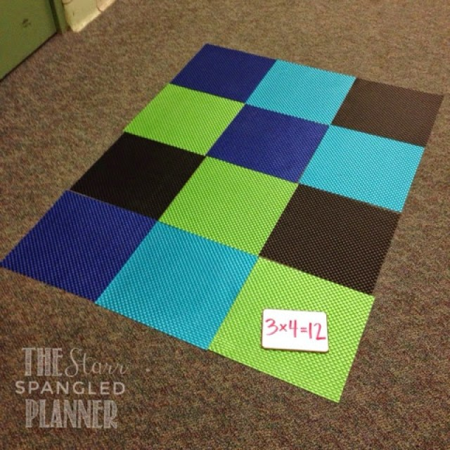 Multiplication Game, Multiplication Activity, Building Arrays