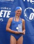 2007 Ocean Athletes Dannielle OConnor 12 yr Female Gold Medalist Diamond Race