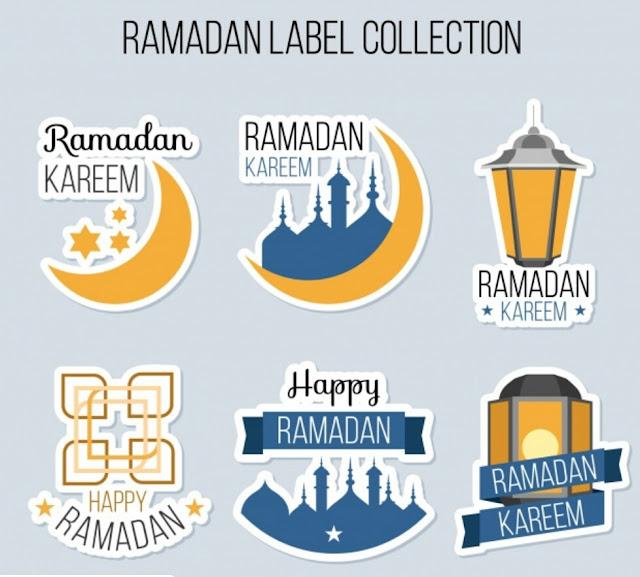 Design Background tema Backdrop Ramadhan